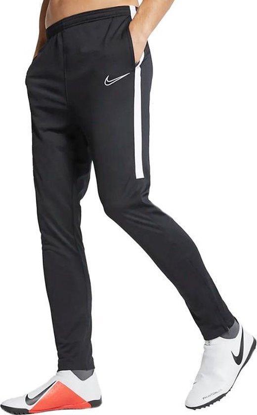 bol.com | Nike Dry Academy trainingsbroek heren zwart/wit