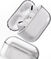 Medicca - Airpods Pro Case - Hard Case - Airpods Pro Hoesje -  Airpods Pro Cover - Airpods Pro Bescherming - Transparant