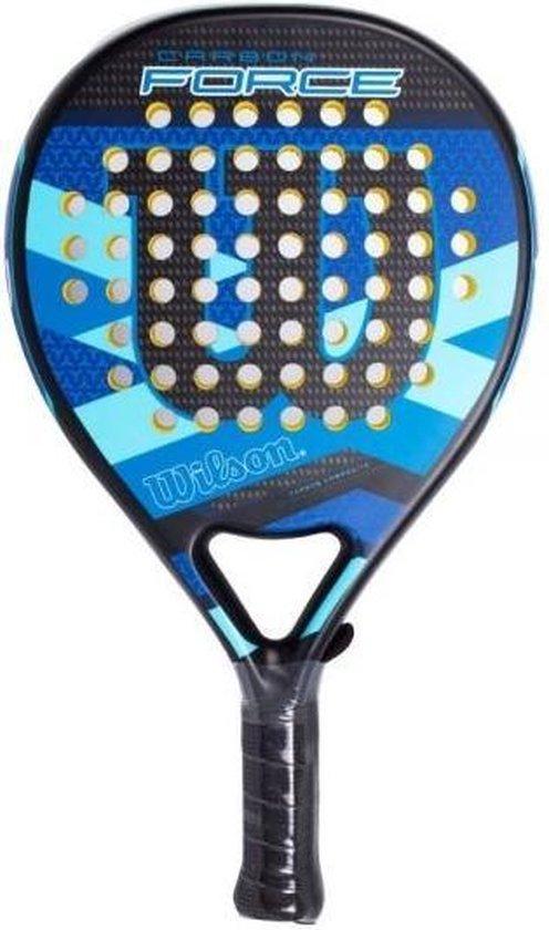 Wilson Carbon Force Azul Padel Racket