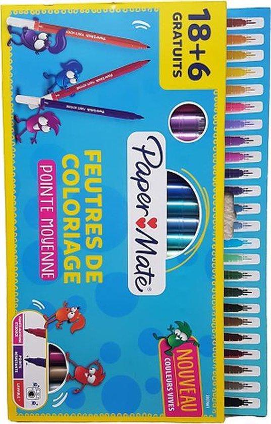 Onwijs bol.com | Papermate viltstiften - Viltstiften - Papermate KS-51