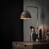 LifestyleFurn Tafellamp 'Hailee' kleur oud zilver