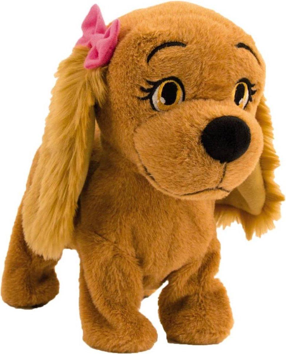 Imc Interactieve Knuffelhond Lucy 25 Cm Bruin
