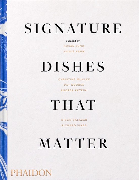 Boek cover Signature Dishes That Matter van Editors Phaidon (Hardcover)