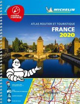 France 2020 -Tourist & Motoring Atlas A4 Laminated Spiral