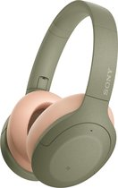Sony WH-H910N - Draadloze Bluetooth over-ear koptelefoon met Noise Cancelling - Groen