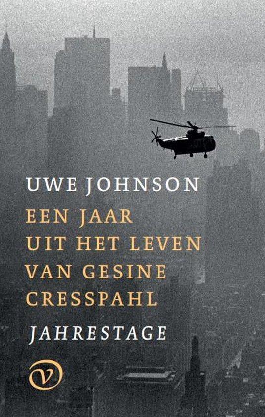 Boek cover Een jaar uit het leven van Gesine Cresspahl van Uwe Johnson (Hardcover)