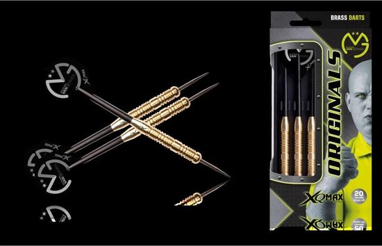Michael van Gerwen 100% Brass 20 GR - XQmax Darts