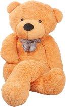 Grote knuffelbeer 160cm Lichtbruin teddybeer knuffel