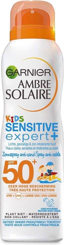 Garnier Ambre Solaire Kids SPF 50 Zonnebrandspray - 200 ml - Hypoallergeen