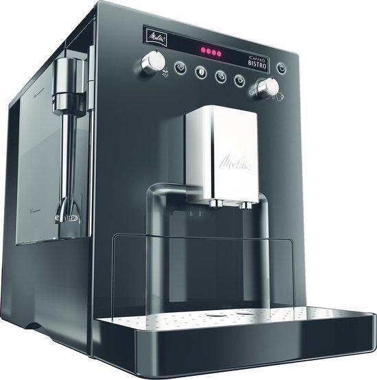 Melitta Caffeo Bistro Volautomaat Espressomachine Zwart