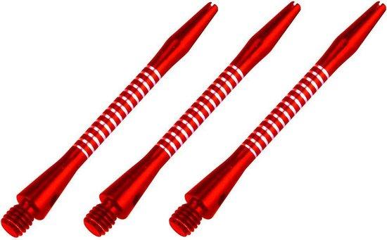 Afbeelding van het spel Abbey Darts Shafts Aluminium - Rood