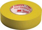 3M Temflex isolatie tape - 15 mm / 10 meter - geel
