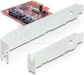 Delock - PCIe SATA 6Gb/s 2x intern Delock