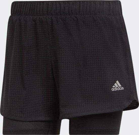 Adidas M10 SHORT W Dames Sportbroek - black - M 4