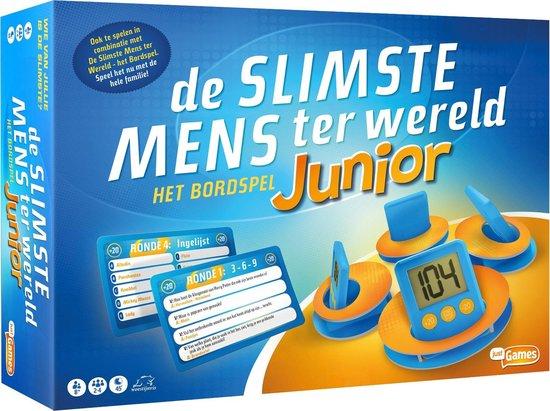 Afbeelding van het spel De Slimste Mens Ter Wereld Junior - Kinderspel