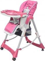 Luxe kinderstoel in hoogte verstelbaar (roze)
