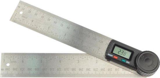 Brüder Mannesmann Hoekmeter digitaal 200 mm 81220