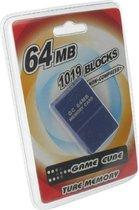 Dolphix Nintendo Wii en GameCube geheugenkaart - 64 MB / 1019 Blocks