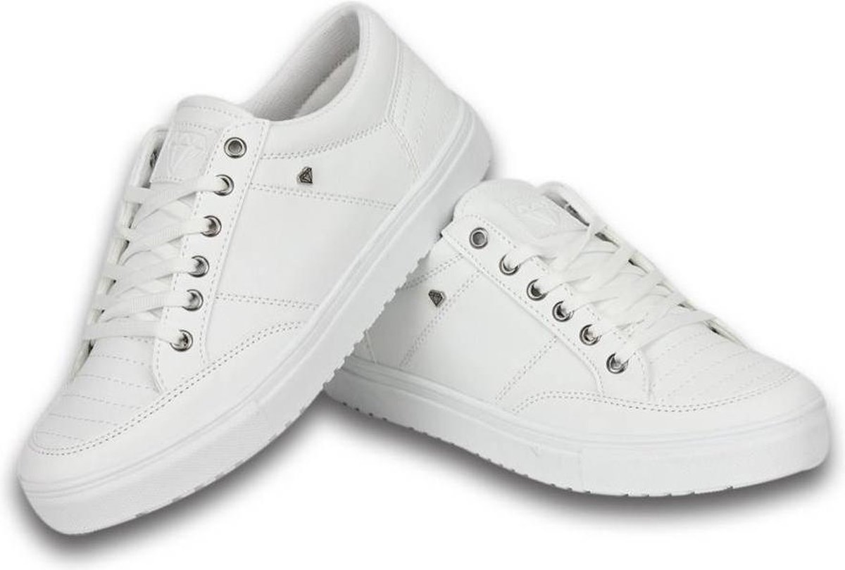Cash Money Heren Schoenen - Heren Sneaker Low - Wit - Maten: 43