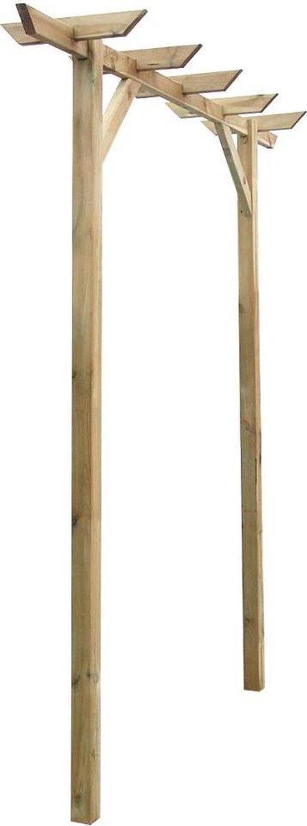Tuin pergola 200 x 40 x 205 cm (hout)