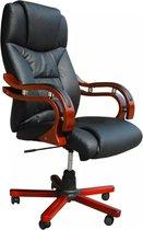 vidaXL - Directie S220 - Bureaustoel - Zwart