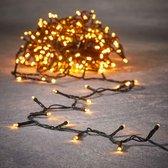 Luca Lighting kerstverlichting lichtsnoer - ook voor buiten - 720 lampjes extrawarm wit -timer -  5400 cm