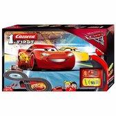 Afbeelding van Carrera First Disney·Pixar Cars 3 Bliksem McQueen en Cruz Ramirez - Racebaan 2,4 meter speelgoed