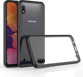 Mobigear Acrylic Protective Hoesje Zwart Samsung Galaxy A10
