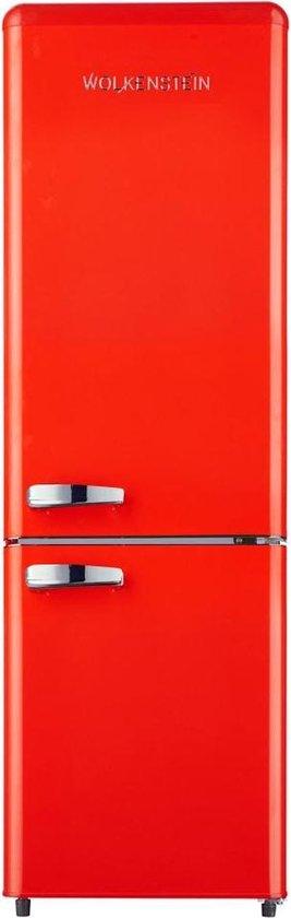 Koelkast: Wolkenstein KG 250.4 RT B - Retro koel-vriescombinatie - Fire Red, van het merk Wolkenstein