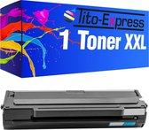 Tito-Express PlatinumSerie Toners 1x Samsung MLT-D1042S ML-1660 XL Zwart alternatief voor Samsung MLT-D1042S ML-1660