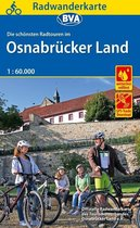 Radwanderkarte BVA Radwandern im Osnabrücker Land 1:60.000