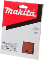 Makita Schuurvel K80 114x102 Red