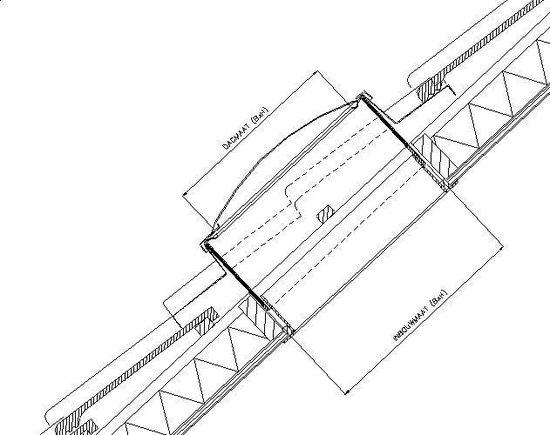 PE Dakraam Neroma - 4 pans (NER 1) - Merkloos