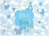 Geboorte Jongen Raamvlag It's a Boy 90x60cm