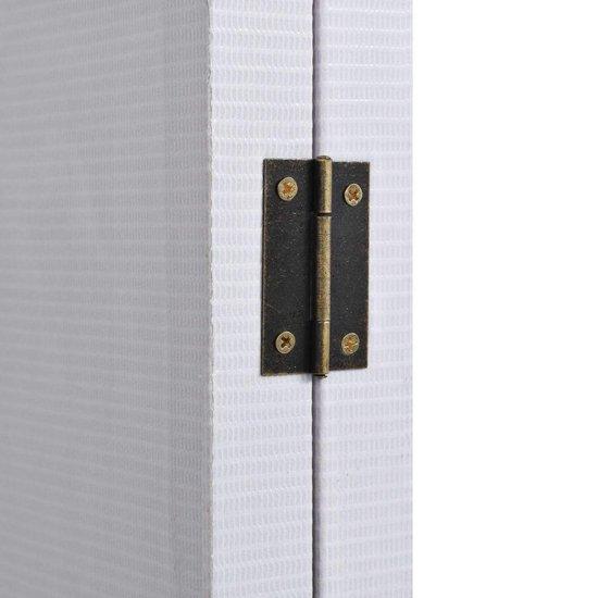 vidaXL Kamerverdeler New York bij daglicht 200x170 cm zwart en wit - vidaXL