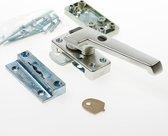AXA 3320 Veiligheids raamsluiting - 3320-51-92/E - draairichting 3 - Aluminium F2