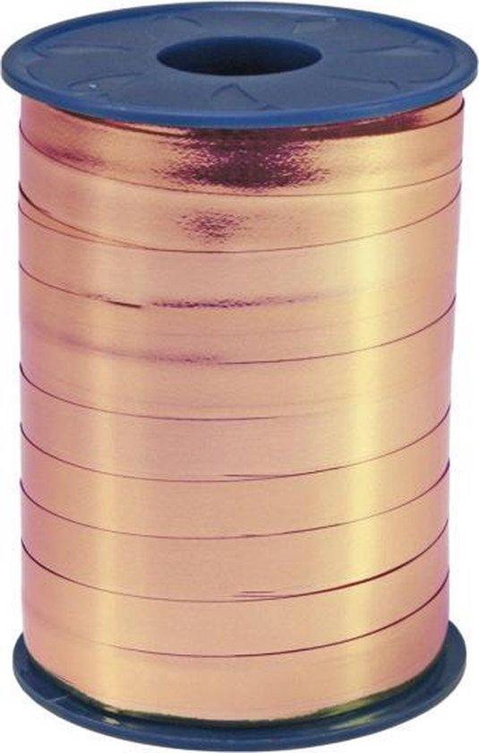 Rosé Goud Lint Metallic 250 meter x 5mm