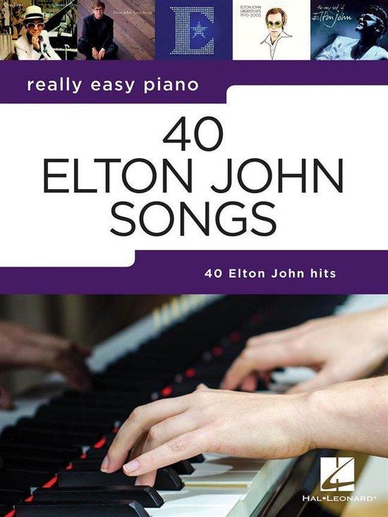Afbeelding van ELTON JOHN 40 SONGS FOR REALLY EASY PIAN