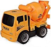 Cementwagen met gereedschap van ToyVs Oranje kleuren