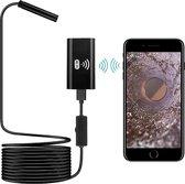 Sinji Flexibele Full HD Inspectiecamera - LED Verlicht - iOS & Android - 5 Meter - Boroscope - Endoscoop - Zwart
