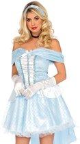 Lichtblauw sprookjes prinses kostuum voor vrouwen - Volwassenen kostuums