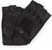 leren autohandschoenen dames model Whitsunday Color: Black, Size: 7