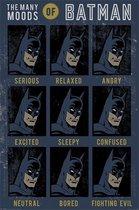 Batman poster comic-gezichten-moods 61x91.5cm.