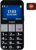 Fysic FM-7810 Senioren mobiele telefoon - Eenvoudige bedienbaar - Met camera - Zwart