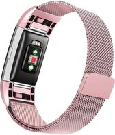 Milanees Bandje Roze - FitBit Charge 2 - Small