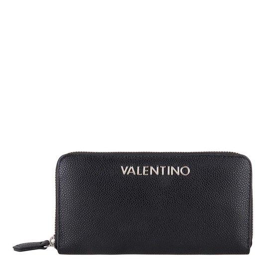 Valentino Divina Zip Around Dames Portemonnee - Zwart