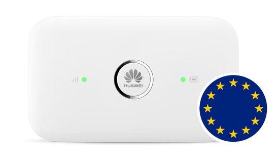Keepgo mifi router +  EUROPA 4G LTE simkaart (inclusief 2GB - 365 dagen geldig)