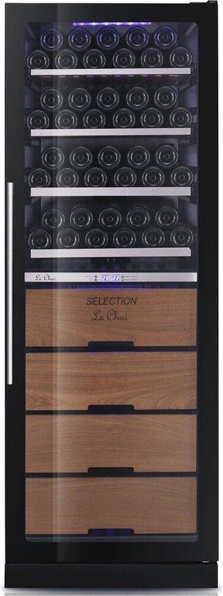 Koelkast: Le Chai LBN1300TV - Wijnkoelkast - 122 flessen, van het merk Le Chai