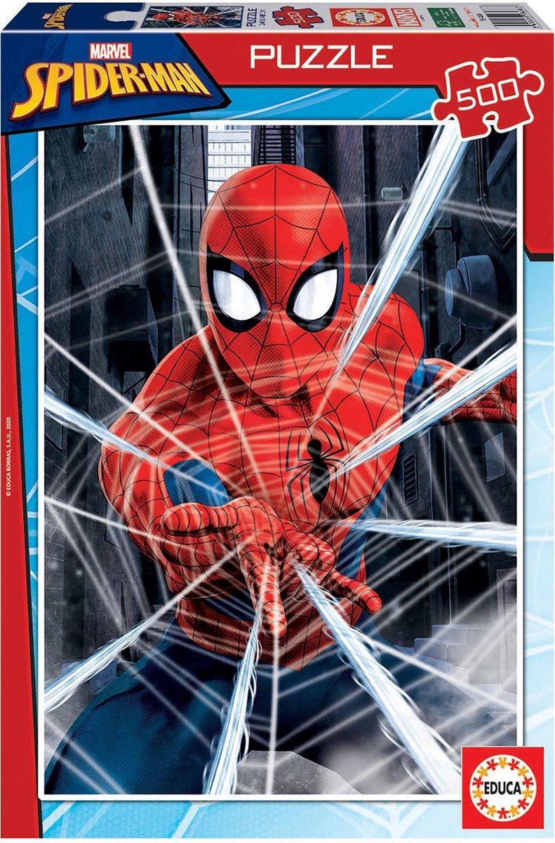 Spider-man puzzel 500 stukjes