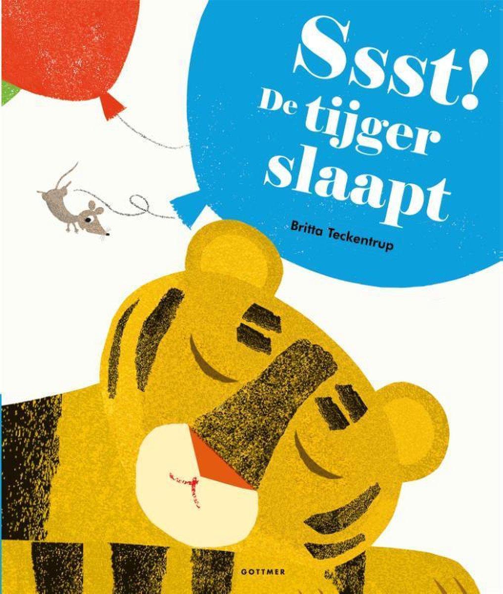 Ssst! De tijger slaapt - Britta Teckentrup